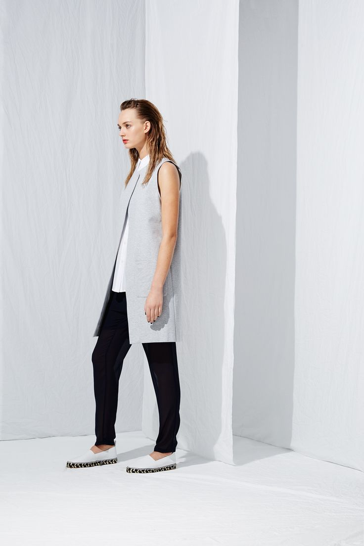 Cross Vest from the latest L.W.B. collection by Australian fashion designer LIFEwithBIRD Summer'15