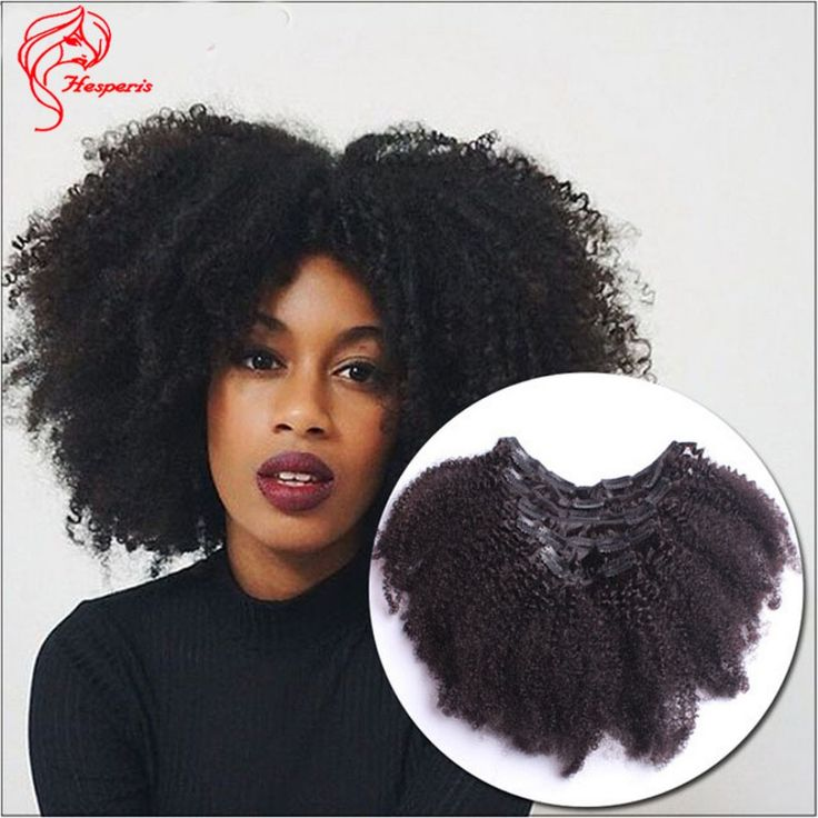 120 Grams Afro Kinky Curly Clip In Hair Extension Epacket Freeshipping
