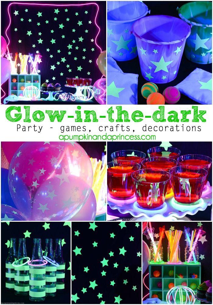 Glowinthedark Party Glow stick party, Glow party food