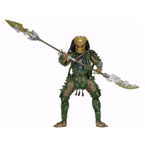 Predator Series 18 Broken Tusk Predator Action Figure - NECA - Predator - Action Figures at Entertainment Earth