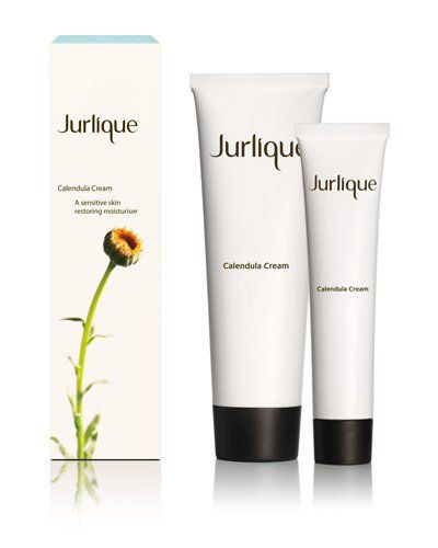 """invest in Jurlique Calendula Cream, which is SO gentle and full of naturally derived goodness. It is perfect for dead-of-winter irritation or after-sun sensitivity, and it is even great for those who are prone to break-outs. It truly calms and soothes irritated/inflamed skin, like a drink for your face! It is thick and creamy, which may make the breakout-prone and oily-skinned a little hesitant, but I promise you will wake up glowing."" - Bare Beauty"