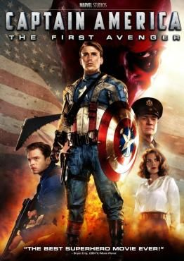 Captain America, The First Avenger - My family thinks I'm crazy but this is the BEST superhero movie ever made...with iron man close behind.