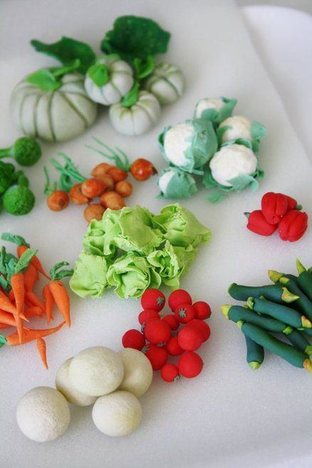 Decorating Ideas > 17 Best Images About Fondant  Fruit & Vegetables On  ~ 224209_Cake Decorating Ideas Vegetables