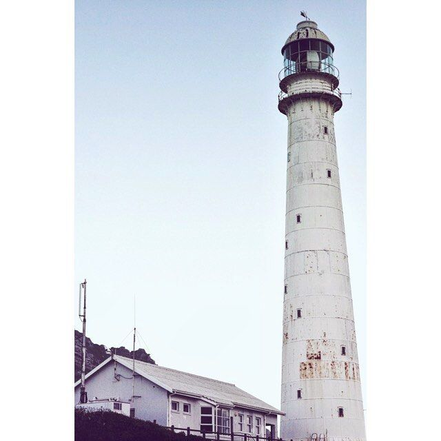 Is that lighthouse compensating for something? -  #lighthousepoint #lighthouse #kommetjie #capetown
