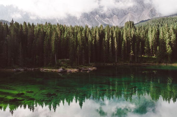 Lago di Carezza, Val di Fassa, Italy, Travel