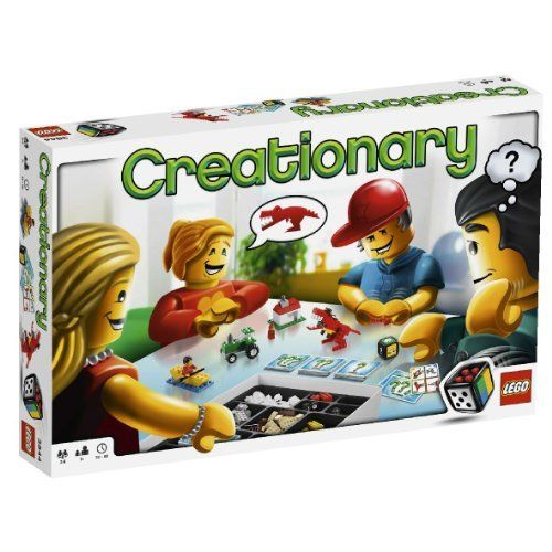 LEGO Games 3844: Creationary: Amazon.co.uk: Toys & Games