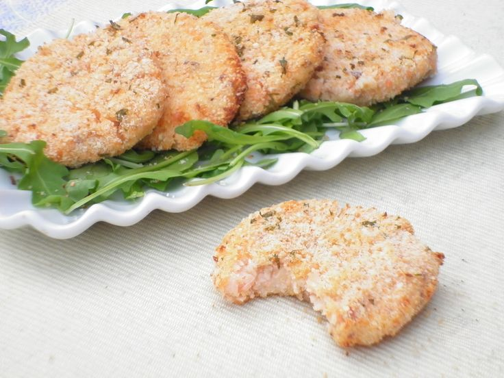 Medaglioni di salmone e patate
