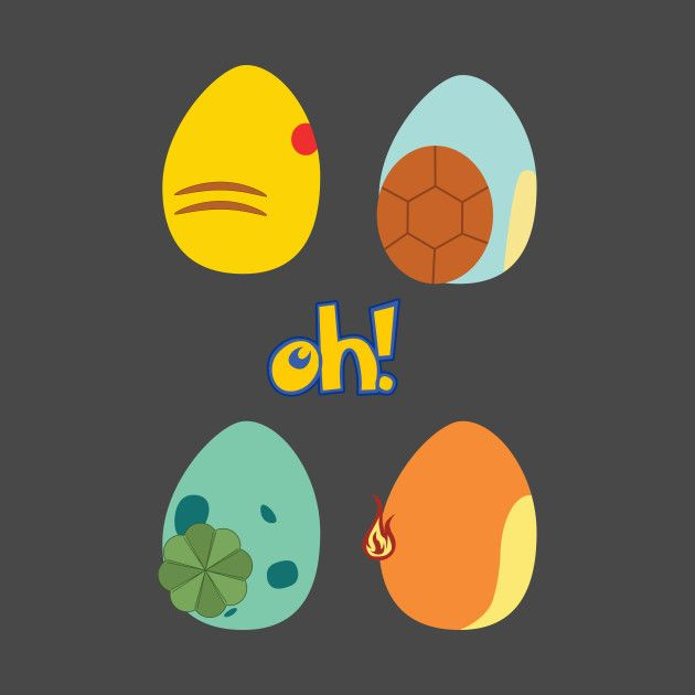 Check out this awesome 'pokemon eggs' design on @TeePublic!