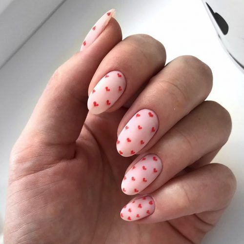Cute designs for oval nails to rock anywhere ★ – Nägel