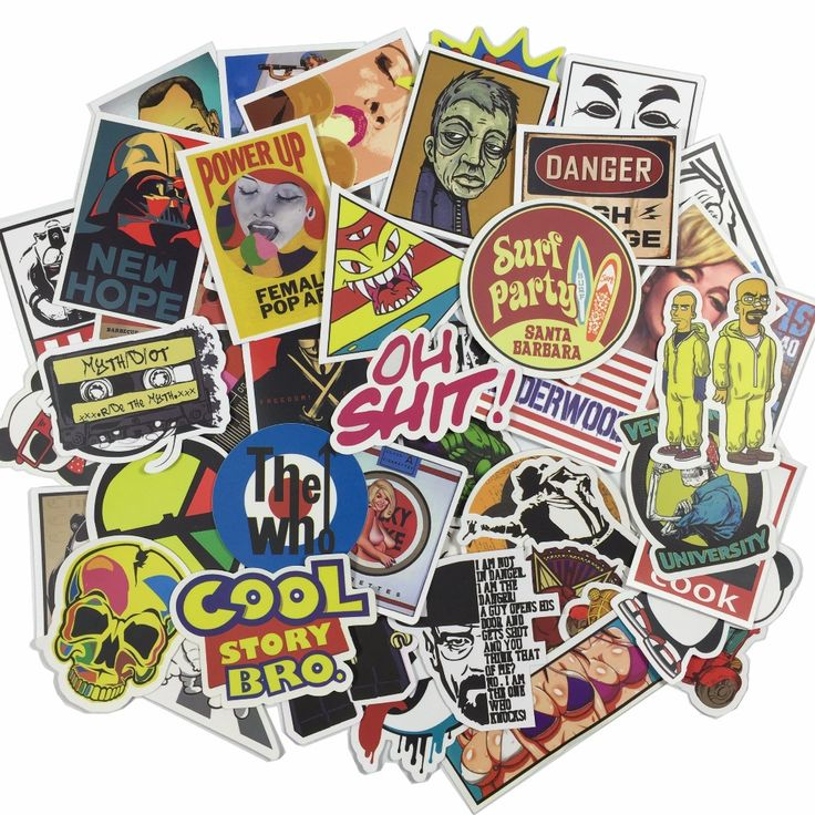 50 pcs Mixed stickers car styling funny car sticker Motorcycle Bike Travel Doodle accessory car cover detector decal car sticker ** Click on the image for additional details.