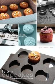 DIY Cupcake Holder  Box (w/ pattern)