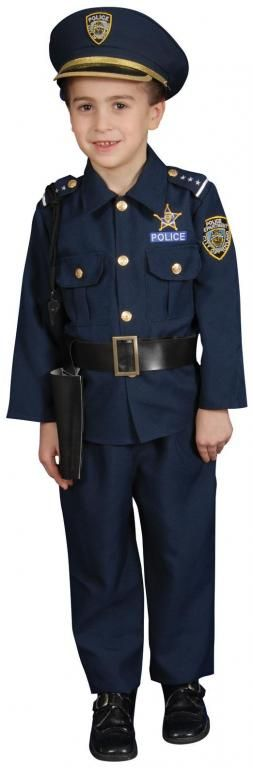 Police Costume - Boys Costumes  Halloween Express