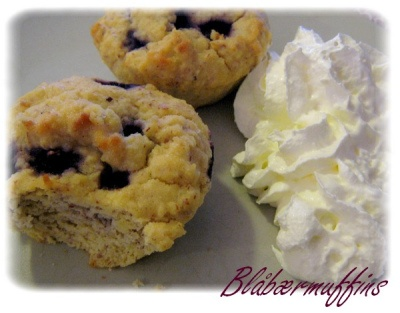 blåbærmuffins