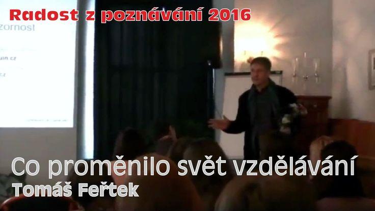 Co změnilo svět vzdělávání (Tomáš Feřtek)