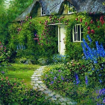 Lovely... (Would you come inside, and sit awhile. I'll make tea.--A Brit in Tennessee blog)
