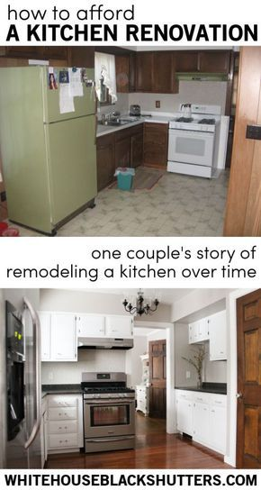 Great post! One couple's story of renovating a kitchen over time rather than all at once. Much less overwhelming!