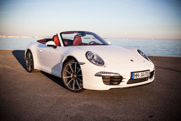 AAA Luxury & Sport Car Rental : Porsche Carrera 911 Cabriolet white