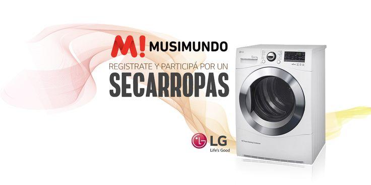 Musimundo.com - Ganate un LAVARROPAS!