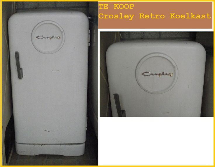 TE KOOP Retro koelkast van Crosley  www.orcacool.nl