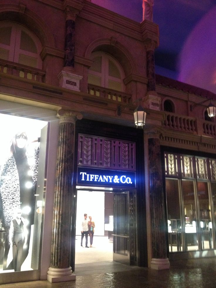 Tiffany & Co. store in the Forum Shops inside Ceasars Palace, Las Vegas