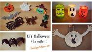 DIY Halloween (suite) : fantôme, chauve-souris, on continue la série !