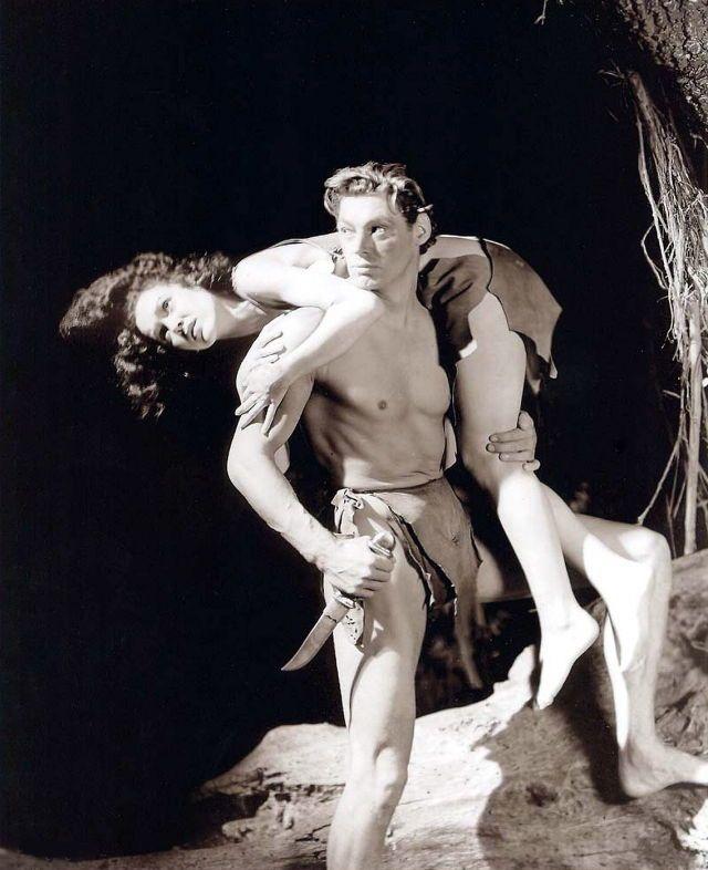Tarzan - Johnny Weissmuller & Maureen O'Sullivan