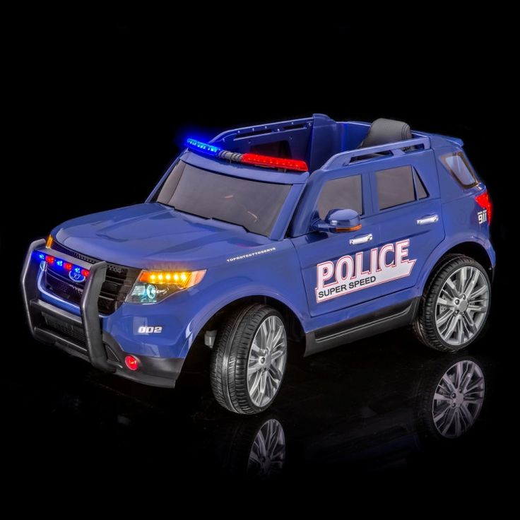 Ford Explorer Police Car Kid Ride On