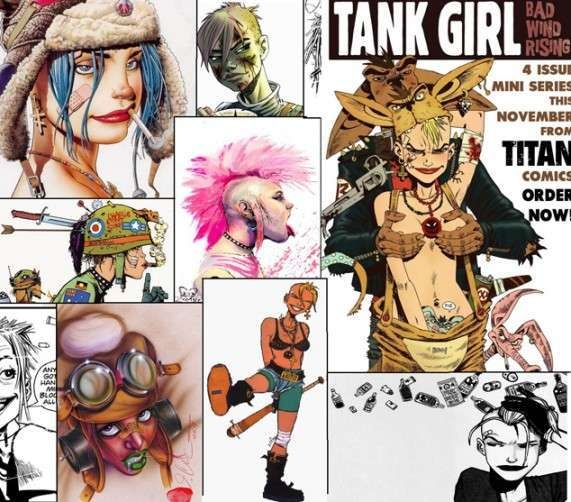 Free Comic Book Day Tank Girl: 9 Best Tank Girl Images On Pinterest