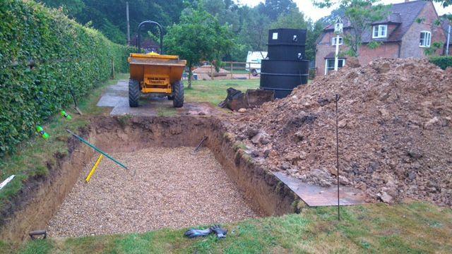 Off Mains Drainage Installation And Maintenance Of Septic Tanks Cesspits Septic Tank Rainwater Harvesting System Drainage Installation