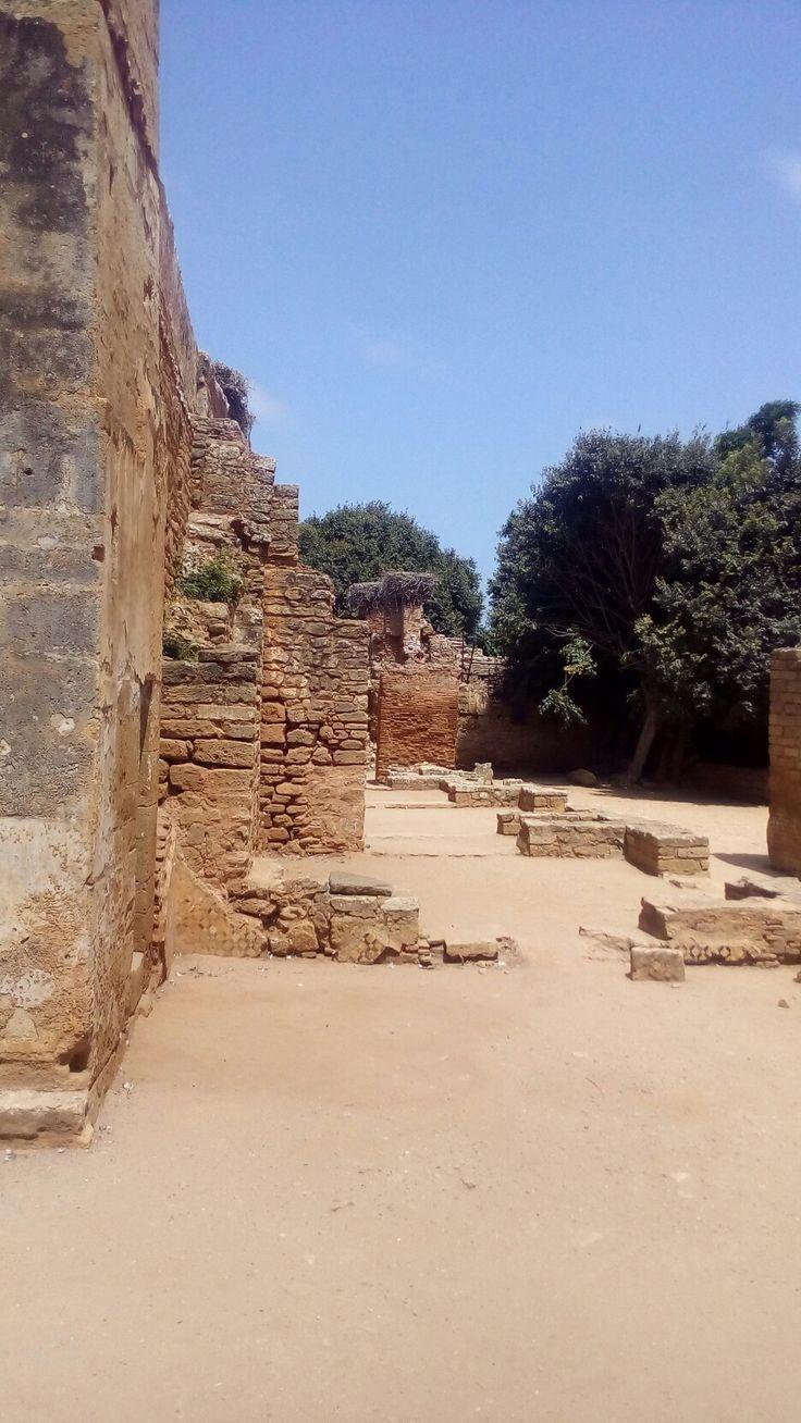 Antique city in rabat