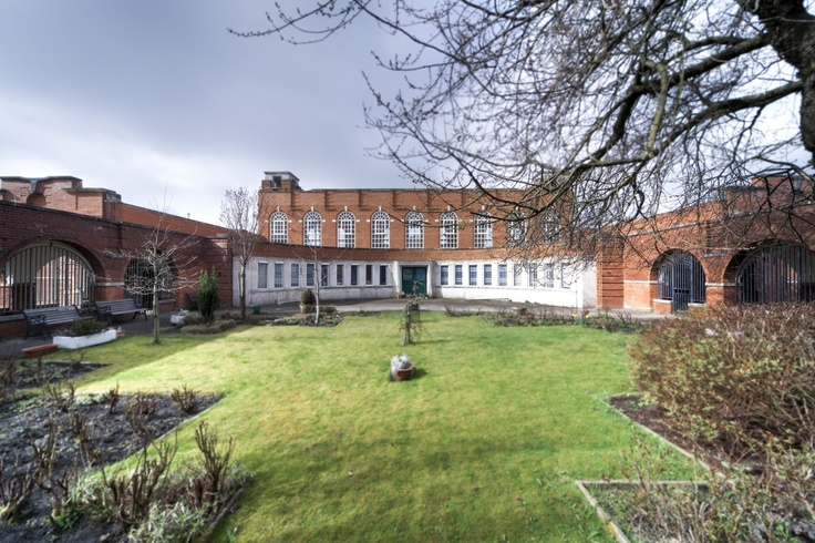 Elm Wood School (aka Elm Street School), Middleton, Manchester.  Designed with J. Henry Sellers. Photo by Andy Marshall, Fotofacade.