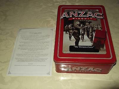 2013 Anzac Unibic Biscuit Tin - The Victoria Cross with letter – COMPLETE MAYHEM