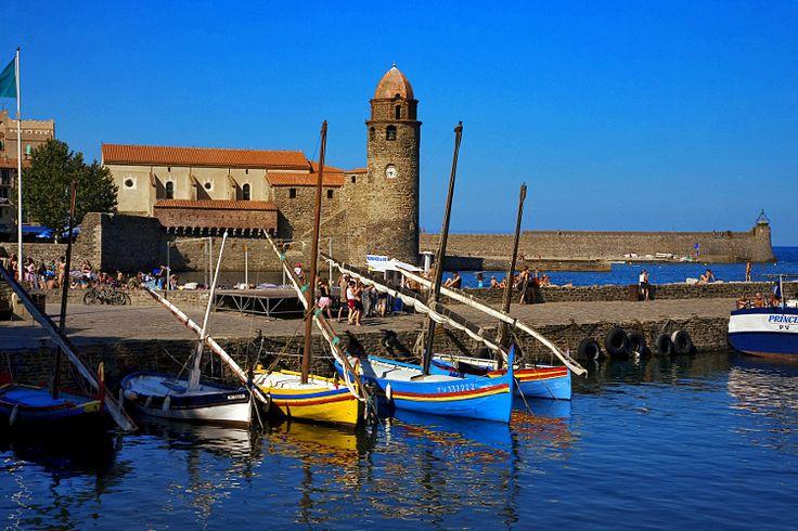 Le charme des petits ports de France, COLLIOURE