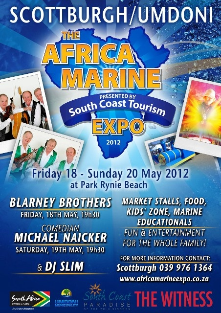 Africa Marine Expo 2012 - saving the oceans, rivers and estuaries!
