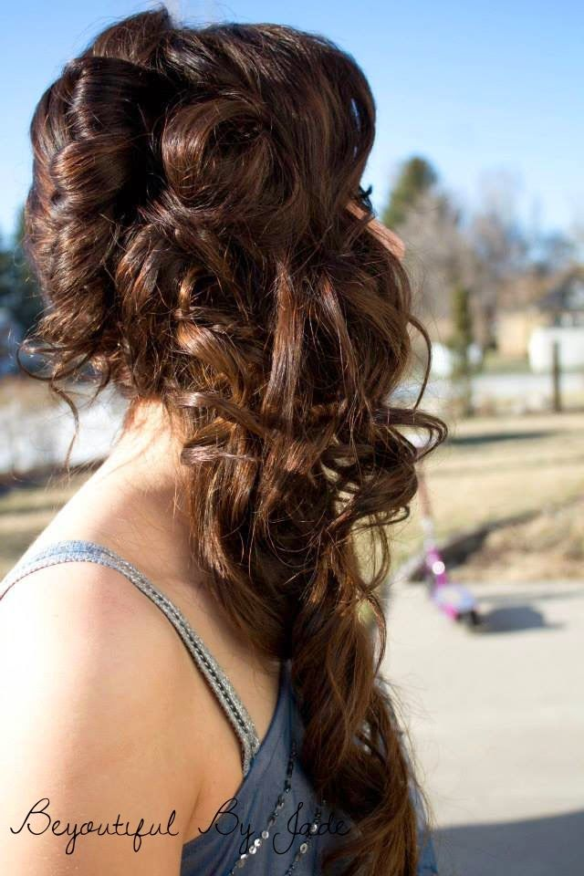 Prom updo, Hair, and makeup ideas on this blog.