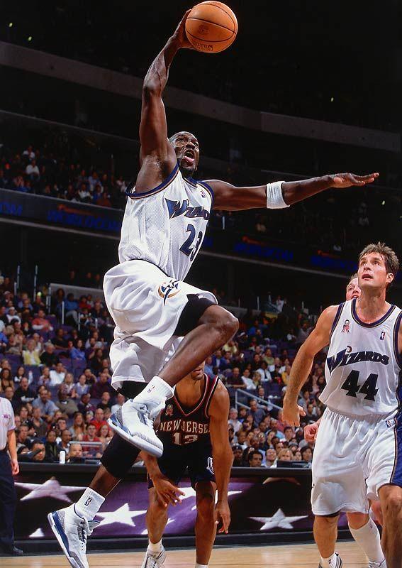38yo Michael Jordan scores 15 in 5 minutes | Wizards home debut