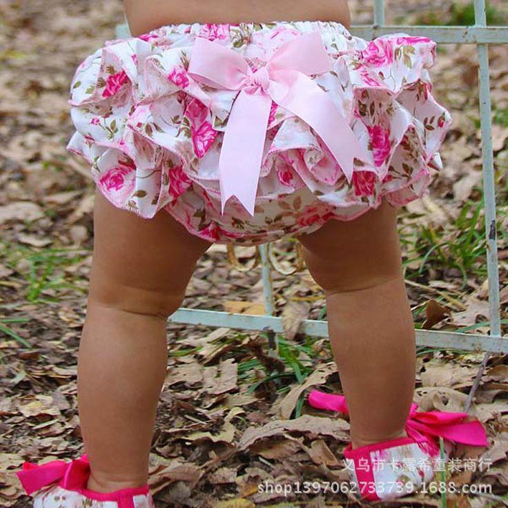 Бесплатная доставка 0-3 Лет Baby Дети Девушки Атласная Ruffle PP Брюки Дети Leopard Bowknot Шаровары Юбка детские Шорты #shoes, #jewelry, #women, #men, #hats, #watches, #belts