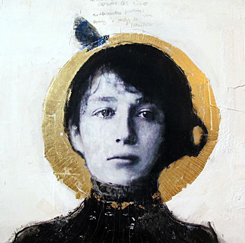 """""""Fleur Éthérée"""" Dominique Fortin - image of Camille Claudel"""