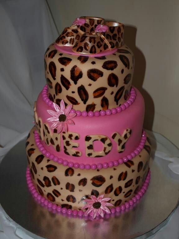 cheetah print pink i love it