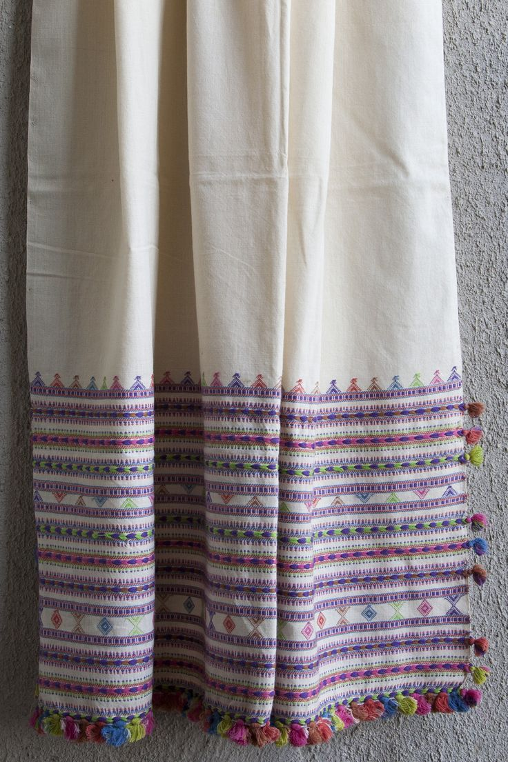 A beautiful  Handwoven Kutchhi Curtains from Bhuj, India  In Stock Rs. 1300.00