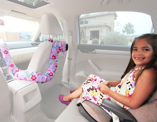 the noggle beat the heat car ac extension for pets kids the noggle