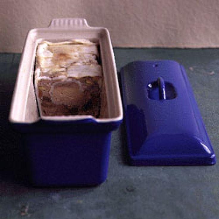 Duck Terrine Recipe | SAVEUR. For LC/GF ditch bread.