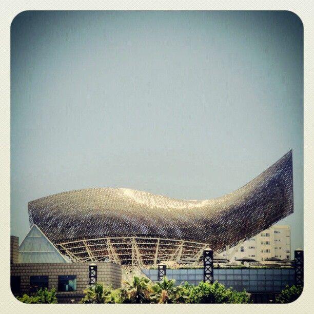 Frank Gehry - EL PEZ DORADO DE LA VILLA OLÍMPICA (BARCELONA)