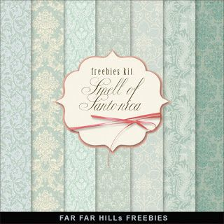 New Freebies Kit of Paper - Smell of Santonica:Far Far Hill - Free database of digital illustrations and papers