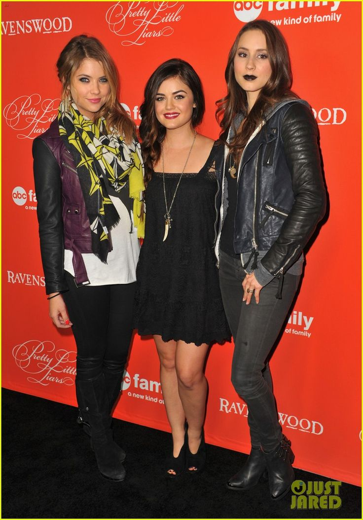 Ashley Benson & Lucy Hale: 'Pretty Little Liars' Halloween Screening! | Ashley Benson, Lucy Hale, Sean Faris Photos | Just Jared