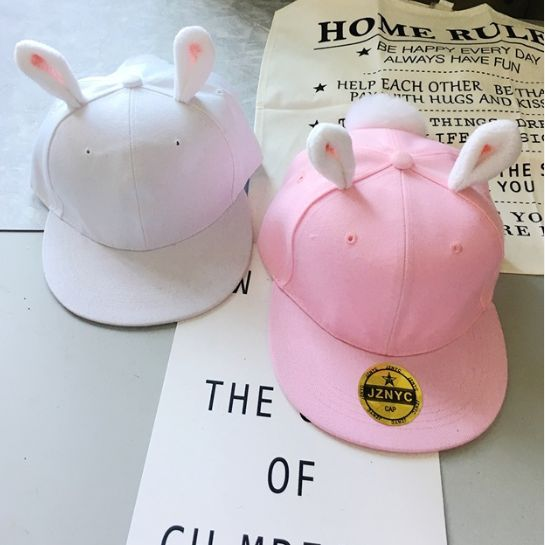 """- Fabric material:canvas. - Color:pink,white, - Size:one size. - Head circumference:58cm/22.62""""."""