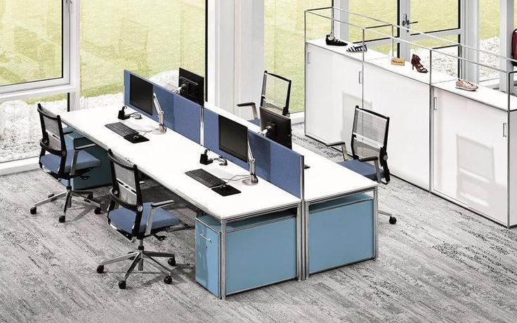 Büromöbel kaufen in Augsburg bei München   Großraumbüro ...