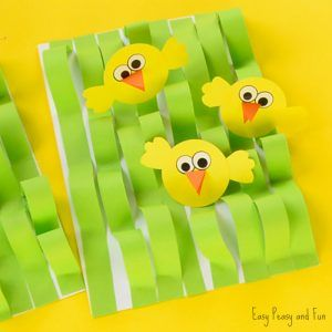 Spring Chick Paper Craft – Easter Craft Ideas