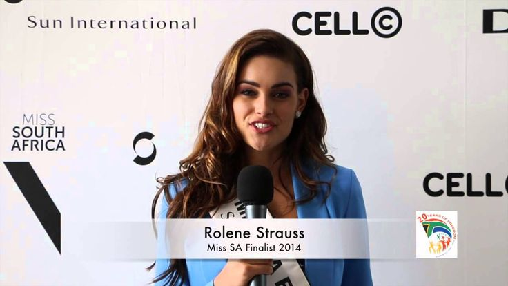 Miss SA Rolene Strauss explains what freedom means to her