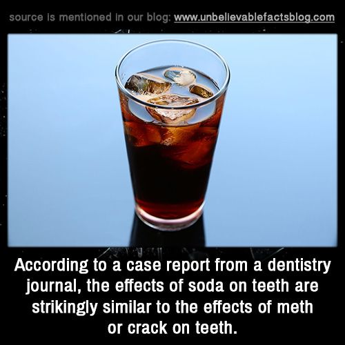 effects of smoking crack on teeth